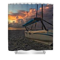 Sailing Still Shower Curtain