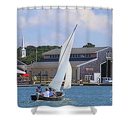 Sailing The Dorothy Shower Curtain