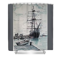 Sailing Vessel Pandora Shower Curtain