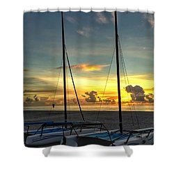 Sailing Vessels  Shower Curtain