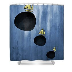 Sailing Your Dreams Shower Curtain