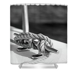 Sailor's Knot Square Shower Curtain