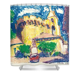 Saint Andiol Provence Shower Curtain