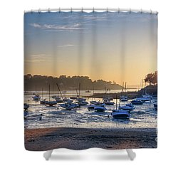 Shower Curtain featuring the photograph Saint Briac by Delphimages Photo Creations