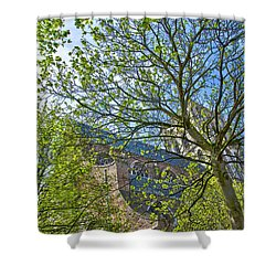 Saint Catharine's Church In Brielle Shower Curtain