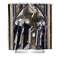 Saint Dominic Shower Curtain by Granger
