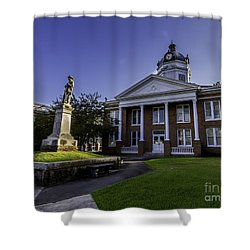 Saint Francisville Court House Shower Curtain by Ken Frischkorn