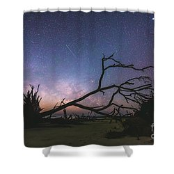 Saint Helena Milky Shower Curtain by Robert Loe