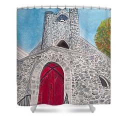 Saint James Episcopal Church Shower Curtain