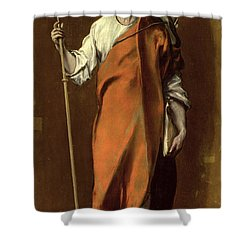Saint James The Greater Shower Curtain by El Greco