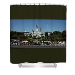 Saint Lewis Cathedral French Quarter New Orleans, La Shower Curtain