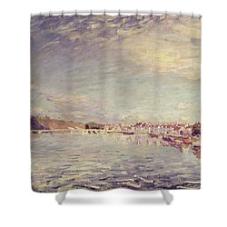Saint Mammes Shower Curtain by Alfred Sisley
