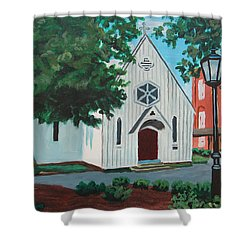 Saint Mary's Chapel Shower Curtain