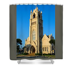 Saint Patrick Catholic Church Of Galveston Shower Curtain