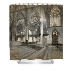 Saint Patrick's Cathedral In New York City Shower Curtain