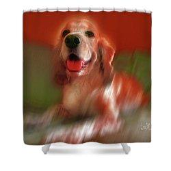 Saint Shaggy Art Photograph 21 Shower Curtain
