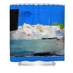 Saint-tropez Shower Curtain