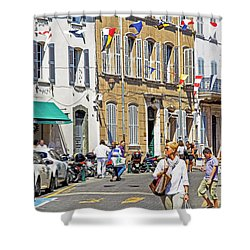 Saint Tropez Moment Shower Curtain