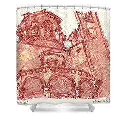 Saint Veran Cavaillon Shower Curtain by Martin Stankewitz