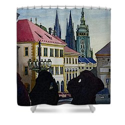 Saint Vitus Cathedral Shower Curtain