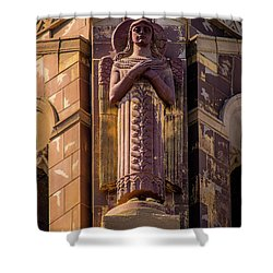 Shower Curtain featuring the photograph Saints Watch Over Us by Onyonet  Photo Studios