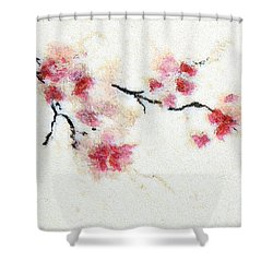 Sakura Branch Shower Curtain