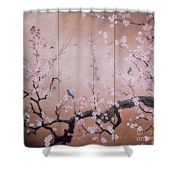 Sakura - Cherry Trees In Bloom Shower Curtain