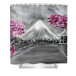 Sakura - Japanese Dreams Shower Curtain