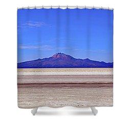 Salar De Uyuni No. 222-1 Shower Curtain