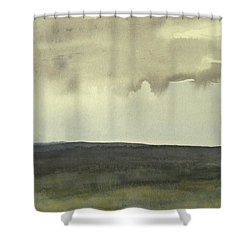 Salen Cloudy Weather. Up Tp 60 X 60 Cm Shower Curtain