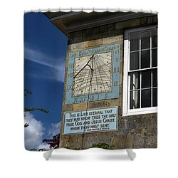 Salisbury Sundial Shower Curtain