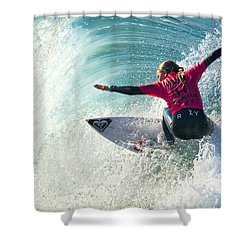 Sally Fitzgibbons Shower Curtain
