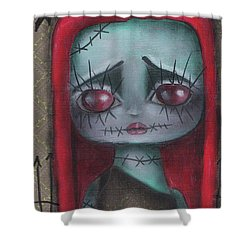 Sally Girl Shower Curtain by Abril Andrade Griffith