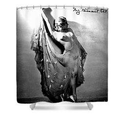 Sally Rand (1904-1979) Shower Curtain by Granger