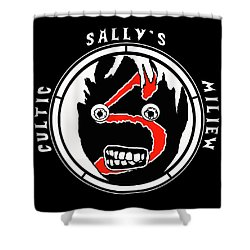 Sallys Cultic Miliew Shower Curtain