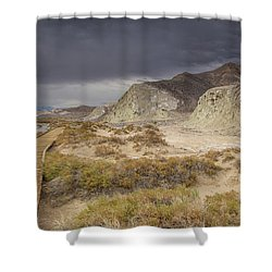 Salt Creek Trail Shower Curtain