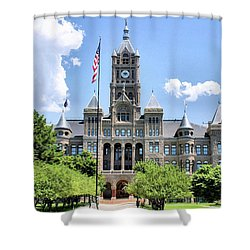 Salt Lake City County Building Shower Curtain