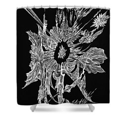 Salty Duscle Shower Curtain by Charles Cater