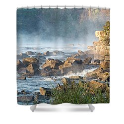 Saluda River At Daybreak Shower Curtain