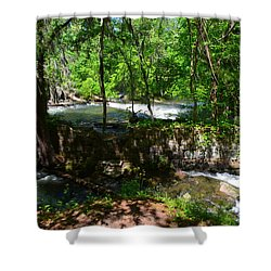 Saluda River Columbia Sc Shower Curtain