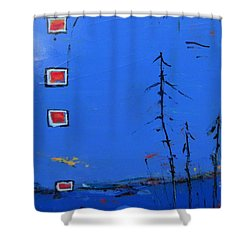 Salut Abitibi Shower Curtain
