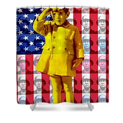 Salute Shower Curtain