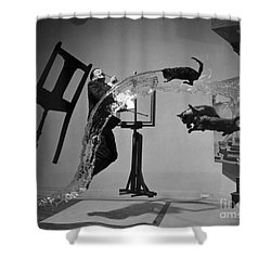 Salvador Dali 1904-1989 Shower Curtain