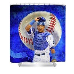 Salvador Perez-kc Royals Shower Curtain
