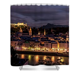 Shower Curtain featuring the photograph Salzburg Austria by David Morefield