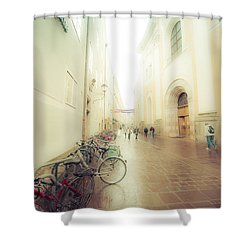 Salzburg Rain Shower Curtain
