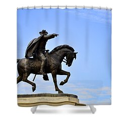 Sam Houston Shower Curtain