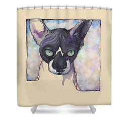 Sam The Sphynx Shower Curtain