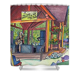 Samantha Fish In Frisco Shower Curtain