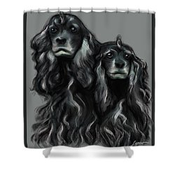 Sammy And Cloe Shower Curtain